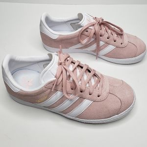 Adidas Gazelle Pink Girl Shoes Size lil girl 2.5 Y